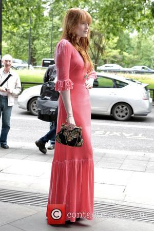 Florence Welch seen arriving at the 2017 Ivor Novello Awards held at Grosvenor House Hotel - London, United Kingdom -...