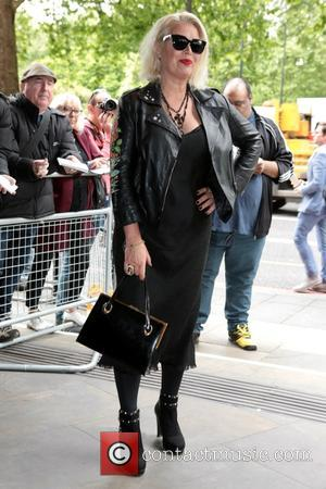 Kim Wilde seen arriving at the 2017 Ivor Novello Awards held at Grosvenor House Hotel - London, United Kingdom -...