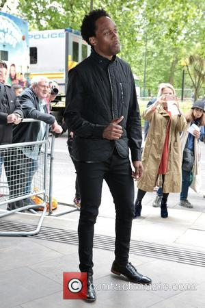 Lemar seen arriving at the 2017 Ivor Novello Awards held at Grosvenor House Hotel - London, United Kingdom - Thursday...
