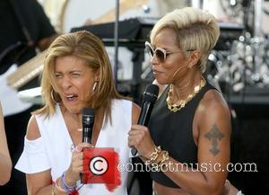 Mary J. Blige and Hoda Kotb