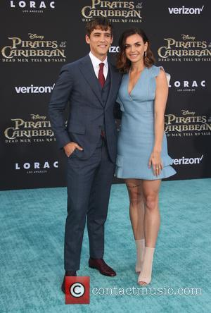 Brenton Thwaites and Chloe Pacey at Dolby Theatre and Disney