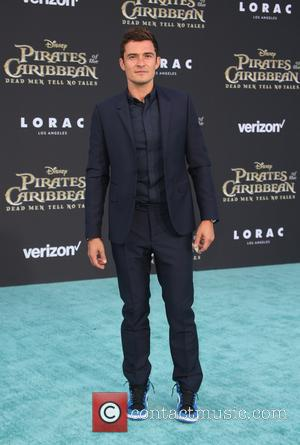 Orlando Bloom at the Premiere Of Disney's