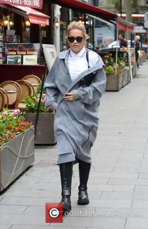 Rita Ora arrives at Global House - London, United Kingdom - Friday 19th May 2017