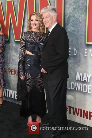 Madchen Amick and David Lynch