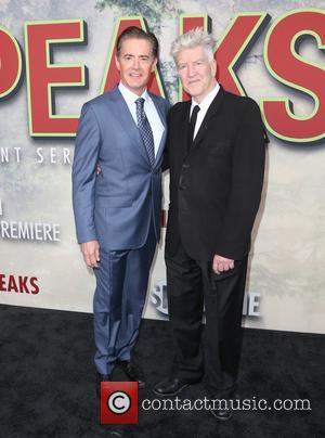 Kyle Maclachlan and David Lynch