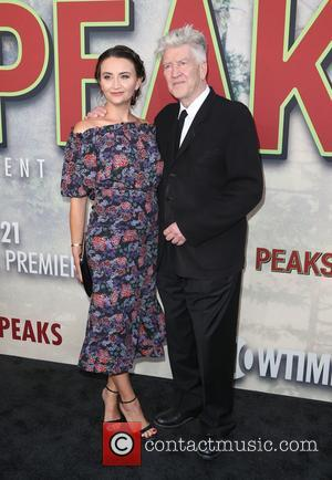Emily Stofle and David Lynch