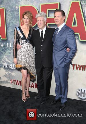 Laura Dern, David Lynch and Contestant