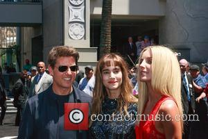 Tom Cruise, Sofia Boutella and Annabelle Wallis