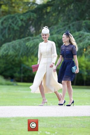 Donna Air at the wedding of Pippa Middleton and James Matthews held at St Mark's Church - Englefield, United Kingdom...