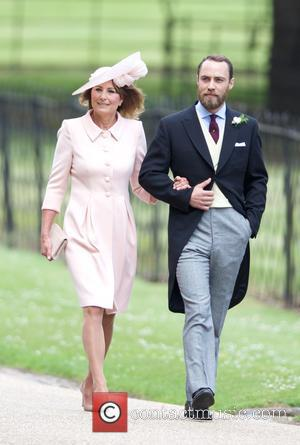 James middleton at the wedding of Pippa Middleton and James Matthews held at St Mark's Church - Englefield, United Kingdom...