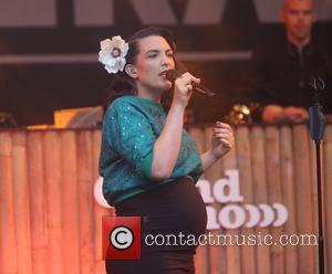 Dutch singer Caro Emerald performing at Caprera Theater - Bloemendaal, Netherlands - Saturday 20th May 2017