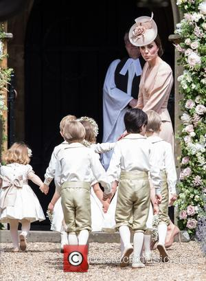 Catherine Duchess Of Cambridge, Kate Middleton, Prince George and Princess Charlotte