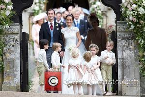 James Matthews, Pippa Middleton, Princess Charlotte and Prince George