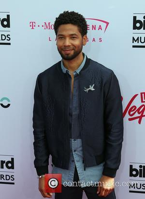 Jussie Smollett on the red carpet at the 2017 Billboard Music Awards Arrivals held at T-Mobile Arena. Drake walked away...