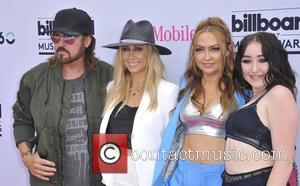 Tish Cyrus, Brandi Cyrus, Billy Ray Cyrus and Noah Cyrus
