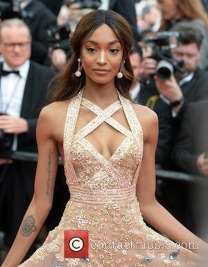 Jourdan Dunn attending the premiere of 'The Killing of a Sacred Deer' during the 70th annual Cannes Film Festival at...