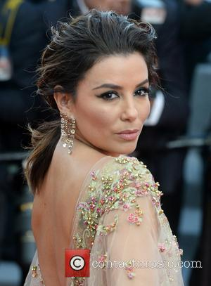 Eva Longoria attending the premiere of 'The Killing of a Sacred Deer' during the 70th annual Cannes Film Festival at...