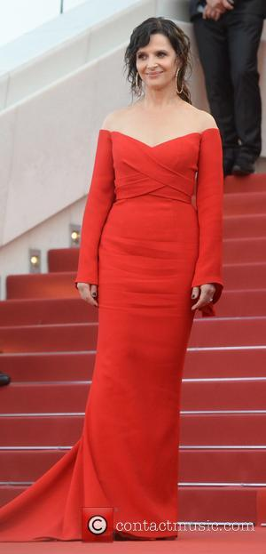 Juliette Binoche attending the premiere of 'The Killing of a Sacred Deer' during the 70th annual Cannes Film Festival at...
