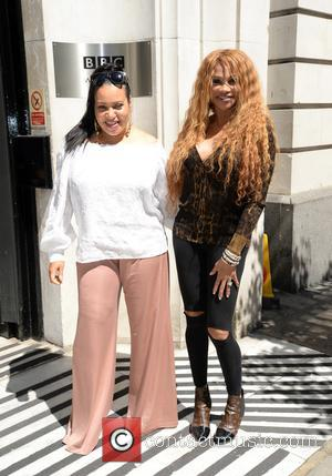 Salt N Pepa seen outside at BBC Radio 2 - London, United Kingdom - Monday 22nd May 2017