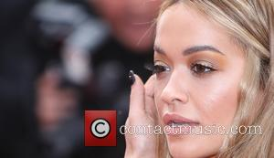 Rita Ora and Fawaz Gruosi at the 70th Cannes Film Festival 70th Anniversary Soiree held at Palais des Festivals -...