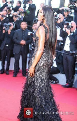 Naomi Campbell at the 70th Cannes Film Festival 70th Anniversary Soiree held at Palais des Festivals - Cannes, United Kingdom...