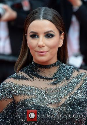 Eva Longoria at the 70th Cannes Film Festival 70th Anniversary Soiree held at Palais des Festivals - Cannes, United Kingdom...