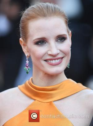 Jessica Chastain at the 70th Cannes Film Festival 70th Anniversary Soiree held at Palais des Festivals - Cannes, United Kingdom...
