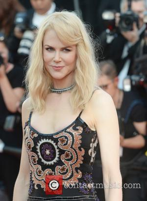 Nicole Kidman and Naomi Campbell at the 70th Cannes Film Festival 70th Anniversary Soiree held at Palais des Festivals -...