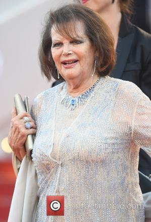 Claudia Cardinaleat the 70th Cannes Film Festival 70th Anniversary Soiree held at Palais des Festivals - Cannes, United Kingdom -...