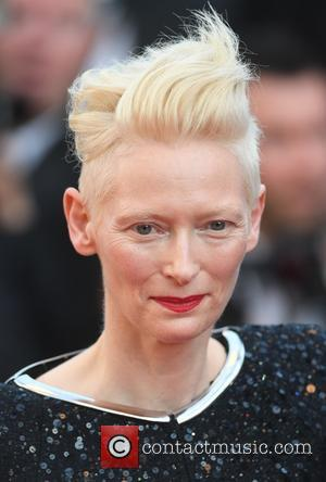 Tilda Swintonat the 70th Cannes Film Festival 70th Anniversary Soiree held at Palais des Festivals - Cannes, United Kingdom -...
