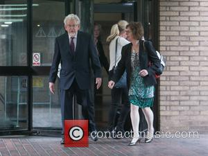 Rolf Harris leaving Southwark crown court - London, United Kingdom - Tuesday 23rd May 2017