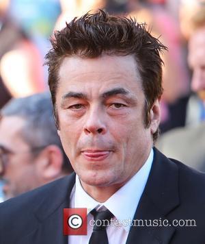 Benicio Del Toro at the 70th Cannes Film Festival 70th Anniversary Soiree held at Palais des Festivals - Cannes, United...