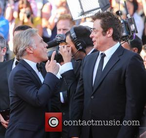 Christopher Waltz and Benicio Del Toro