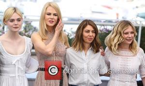 Elle Fanning, Nicole Kidman, Sofia Coppola and Kirsten Dunst at the 70th Cannes Film Festival photocall for 'The Beguiled' held...