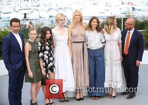 Colin Farrell, Elle Fanning, Nicole Kidman, Sofia Coppola and Kirsten Dunst at the 70th Cannes Film Festival photocall for 'The...