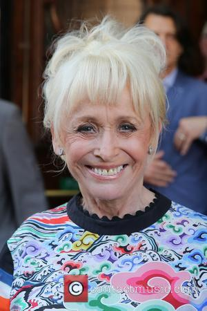 Barbara Windsor at Hackney Empire. and Hackney Empire