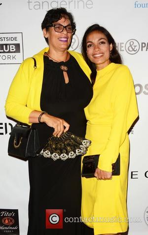 Rosario Dawson and Mother