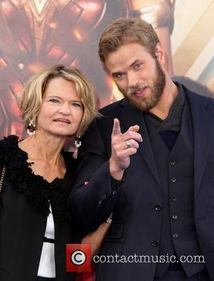 Kellan Lutz at the Wonder Woman World Premiere held at The Pantages Theatre in Hollywood - Los Angeles, California, United...