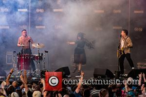 Slaves seen performing at Bearded Theory on the second day held at Catton Park - Lichfield, United Kingdom - Friday...