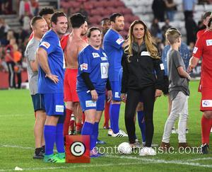 Katie Price, Kieran Hayler and Sam Bailey
