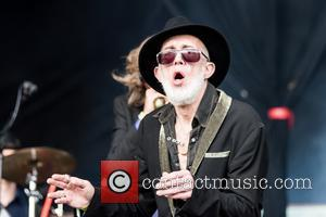 Alabama 3 perform at the 2017 Bearded Theory Festival on the third day held at Catton Hall - Lichfield, United...