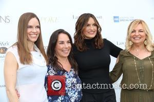 Hilary Swank, Samantha Yanks, Mariska Hargitay and Debra Halpert