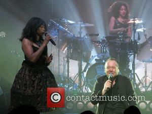 Simple Minds performing at the The London Palladium - London, United Kingdom - Saturday 27th May 2017