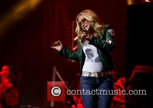 Anastacia performing at the O2 Apollo - Manchester, United Kingdom - Saturday 27th May 2017