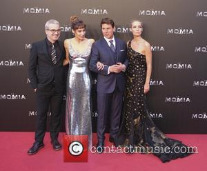 Tom Cruis, Annabelle Wallis and Sofia Boutella