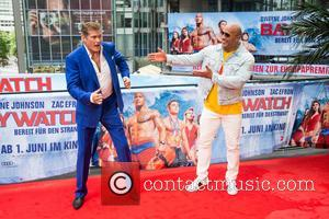 David Hasselhoff at the European Premiere of 'Baywatch' at Sony Center. - Berlin, Germany - Monday 29th May 2017