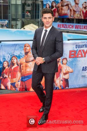 Zac Efron at the European Premiere of 'Baywatch' at Sony Center. - Berlin, Germany - Monday 29th May 2017