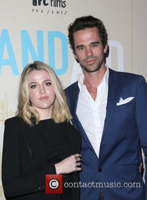 Majandra Delfino at the premiere Of IFC Films' 'Band Aid' held at The Theatre at Ace Hotel - Los Angeles,...