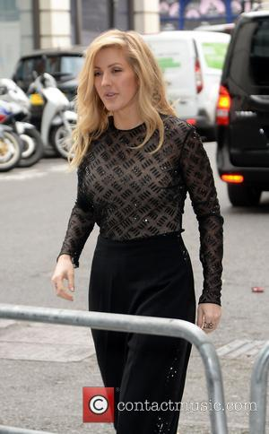 Pop star Ellie Goulding arrives at BBC Radio 1 - London, United Kingdom - Wednesday 31st May 2017