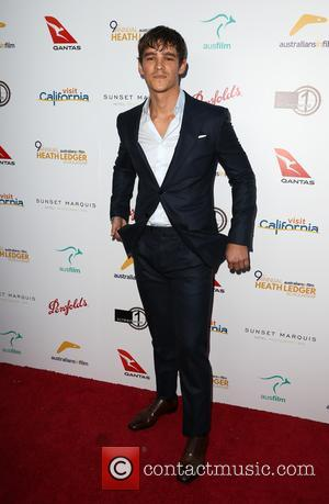 Brenton Thwaites at The 9th Annual Australians In Film Heath Ledger Scholarship Dinner held at Sunset Marquis Hotel - West...